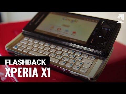 Flashback: Sony Ericsson Xperia X1