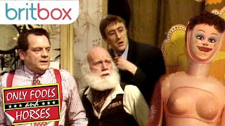 YouTube video E-card Is that noise coming from Uncle Albert The Trotters get a fright when the selfinflating dolls