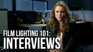 How to Film Cinematic Interviews | 4 Lighting Setups
