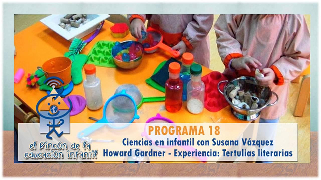 Ciencias en Infantil. El Rincón de la Educación Infantil podcast (n18)
