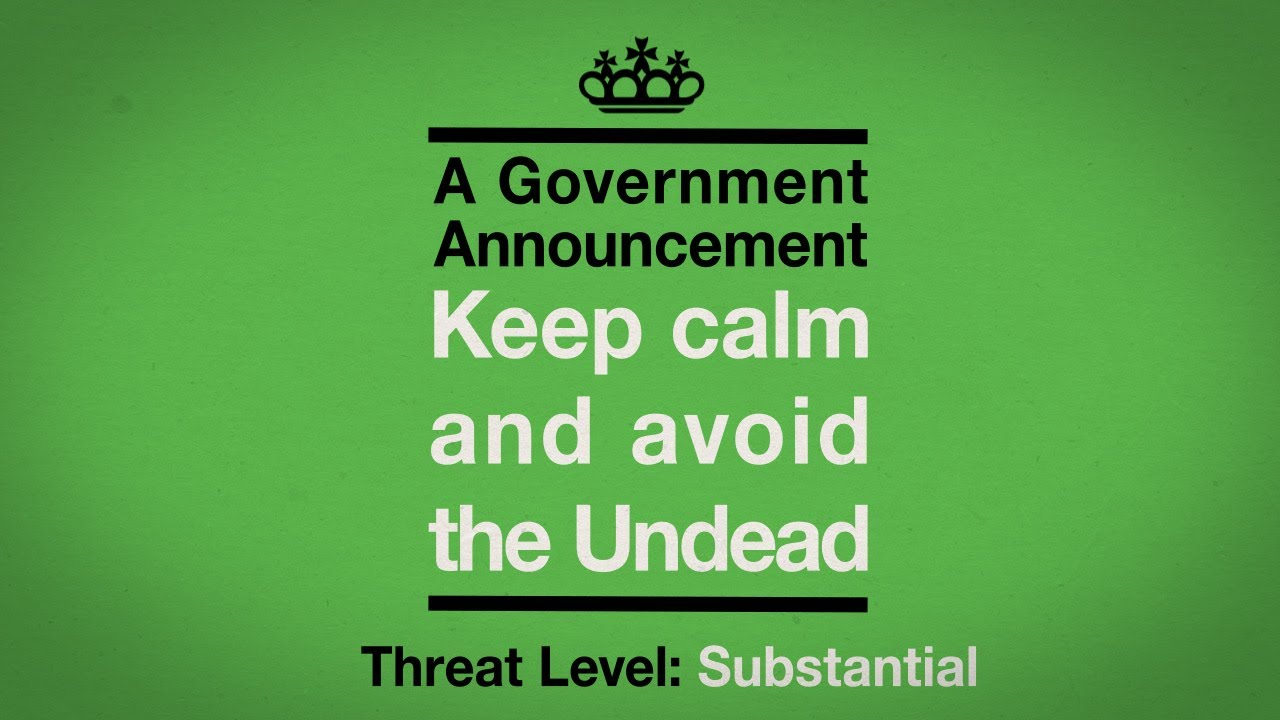 Keep Calm: Here's The PSA The BBC Aired For Its New Zombie 'Rehabilitation' Show