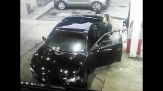 Wild Shootout At Atlanta Gas Station Guy&girl Shot