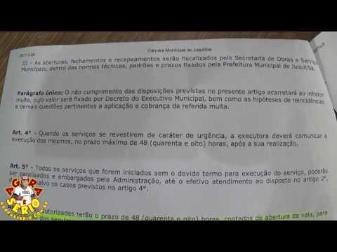 Lei Municipal de Juquitiba nº1859 x Sabesp de Juquitiba