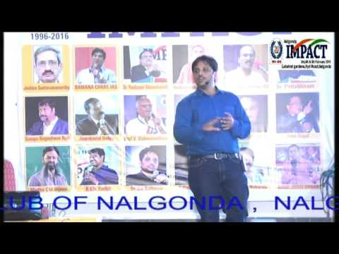Online Earning|Sai Satish | TELUGU IMPACT Nalgonda 2016-Part1