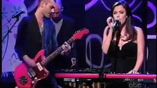 Lenka - The Show and Trouble Is A Friend (Jimmy Kimmel Live 2009)