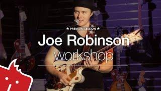 Joe Robinson: Workshop v modřanské prodejně Kytary.cz