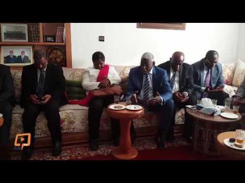 وفد من السفراء الأفارقة ببيت بنكيران لتقديم العزاء