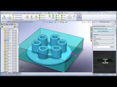 Cost Analysis with SolidWorks 2012.wmv - YouTube