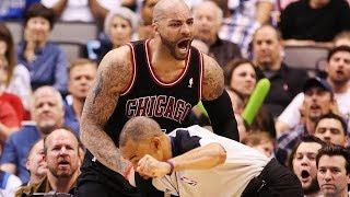 NBA Players Hitting Refs
