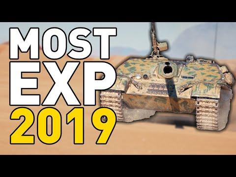 HIGHEST EXP of 2019 in World of Tanks!