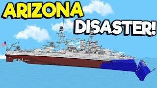 Ship Sinking Rescue & Destroying The New Train?    Floating Sandbox Gameplay   Sinking Simulator
