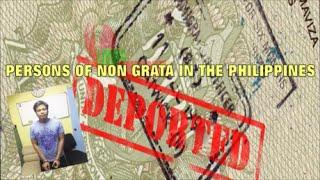 Persons Of Non Grata In The Philippines