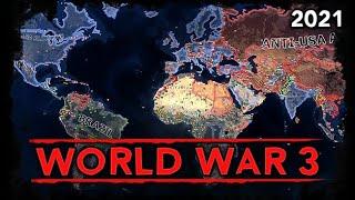 [HoI4] World War 3 [AI Timelapse] 2021