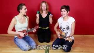 Video BÄNDY - Ukulečnice Ilona Maňasová a Klára Kubištová feat  Réka.G