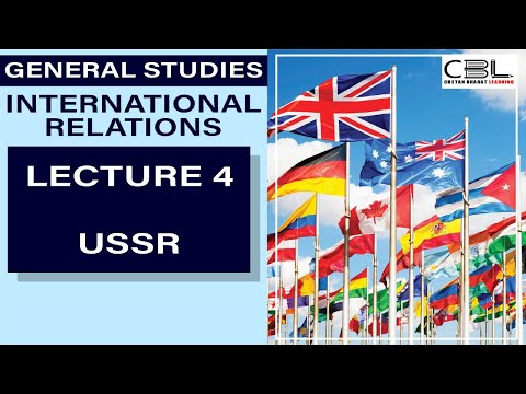 "👉INTERNATIONAL RELATIONS: LECTURE 4 👉BEST UPSC COURSE ONLINE | ★★★★★★""IR for UPSC###Best IR Lecture"