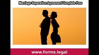 Rental Lease Agreement - Marriage Separation Agreement Form Online Download