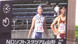 2017 山形インターハイ陸上 女子4×100mR決勝