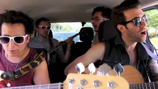 "American Authors Perform Acoustic Version of ""Believer"" Live at SXSW (In The Tour Van)"