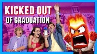 KICKED OUT OF GRADUATION!!! | Air Horn Prank