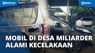 Belasan Mobil Baru di Kampung Miliarder Tuban Alami Kecelakaan, Ternyata Pemilik Belum Bisa Menyetir