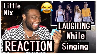 Little Mix Laughing While Singing | REACTION