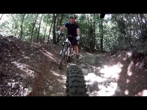 Verso l'Abbazia di Vertemate in Mountain Bike