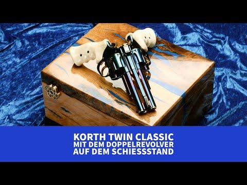 korth: Test und Video: Korth Twin Classic Revolver – wie schießt sich der Doppelrevolver?