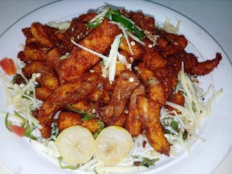 Fry Finger Fish Restaurant Style   (King Chef Shahid Jutt)