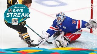 2019 Ticketmaster NHL Save Streak
