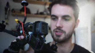 Mounting a GoPro to my Race Drone