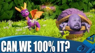 Spyro Reignited Trilogy - Can We 100% Each Level?