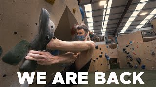 Got in a gym during lockdown todo a crazy DYNO || BoulderingBobat by Bouldering Bobat