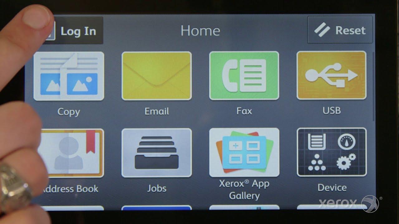 Adding Personal Favorites to your Xerox VersaLink Multifunction Printer YouTube Video