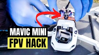 MAVIC MINI WITH GOGGLES ???? MAVIC MINI FPV DRONE HACK ????