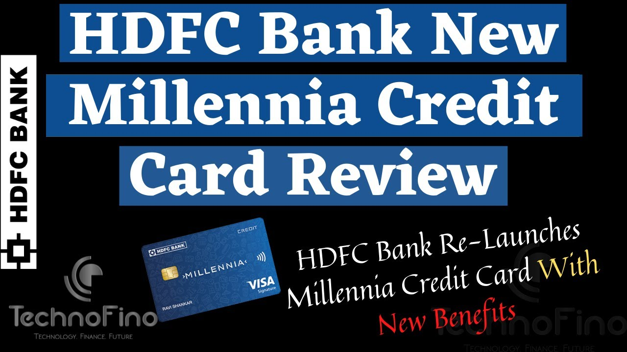 HDFC Bank New Millennia Charge Card Evaluation|Millennia Charge Card Includes Update thumbnail