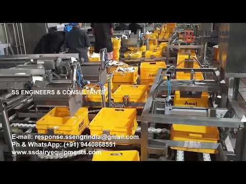 Crate Conveyors Automation