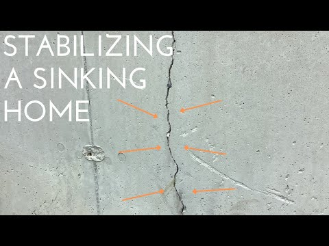 Stabilizing a Sinking Foundation
