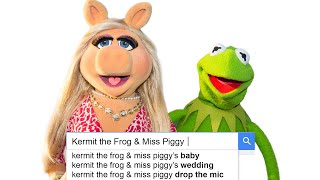 Kermit & Miss Piggy Answer the Web's Most Searched Questions   WIRED