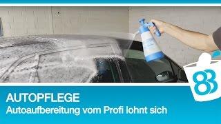 Autopflege - Auto aufbereiten - Autoaufbereitung vom Profi lohnt sich