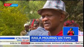 Raila Odinga asks the government to compensate families that lost loved ones during the rallies