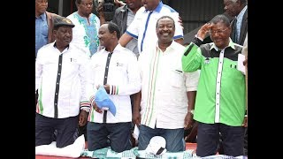 NASA woos Western : Raila Odinga insists no elections without reforms