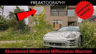Exploring an Abandoned Mitsubishi Millionaires Mansion - Urban Exploring with Freaktography