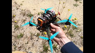FPV Freestyle - 4 Packs on fathers ranch