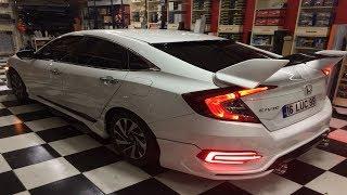 Honda Civic Fc5 Modifiye Değişim **16 LUC 99** ŞNT GARAGE-ŞENTÜRK OTOMOTİV