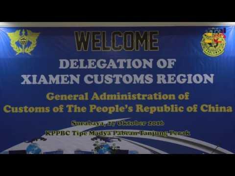 Kunjungan Delegasi Cina ke Tanjung Perak