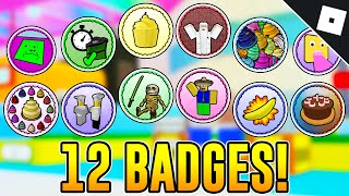 How To Get 12 BADGES In MAKE A CAKE: BACK FOR SECONDS | Roblox