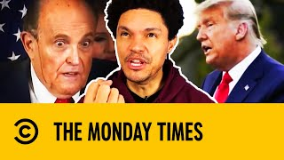 The Monday Times: Trump, Rudy Giuliani, Hair Dye & Face Masks | The Daily Show With Trevor Noah