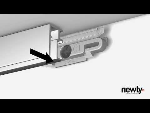 Монтаж галерейной системы Newly R10