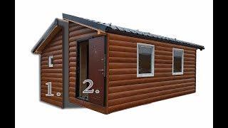 Жилой модульный домик 27 м2. (ставьте лайки по возможности)