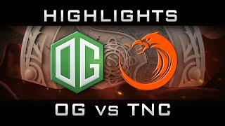 OG vs TNC The International 2016 TI6 Highlights Lower Bracket Dota 2